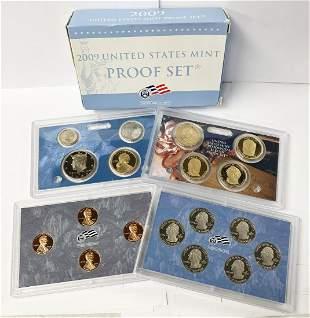 2009-S United States Mint Proof Set w/ Box & NO COA