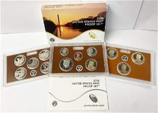 2016 United States Mint 14-Coins Proof Set w/ Box & COA