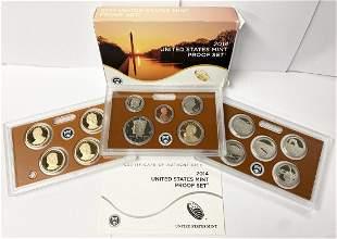 2014 United States Mint 14-Coins Proof Set w/ Box & COA