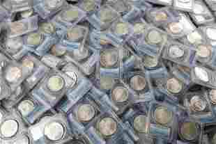 (100) Mixed Date & MM PCGS MS64 Morgan Silver Dollars