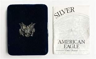 1997 Proof Silver Eagle Set