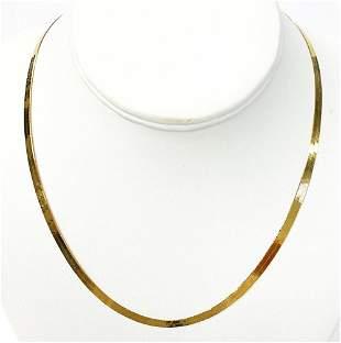 7.9 Gram 14 Karat Gold Necklace