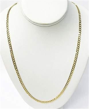 17.2 Gram 14 Karat Gold Necklace