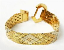 57.7 Gram 18 Karat Gold Bracelet