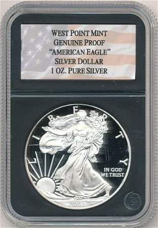 2008 Proof American Silver Eagle
