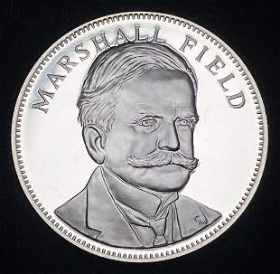 1976 Proof Sterling Silver Medal Marshall Field