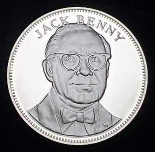 1976 Proof Sterling Silver Medal Jack Benny