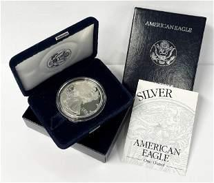 Rare Date 1994 Proof 69 Silver Eagle