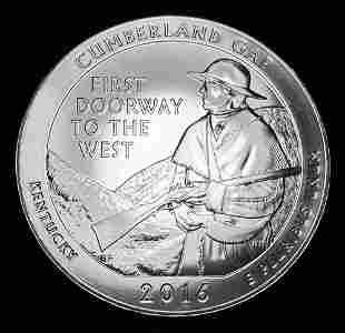 2016 ATB Cumberland Gap Silver 5 oz