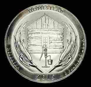 2015 ATB Homestead Silver 5 oz