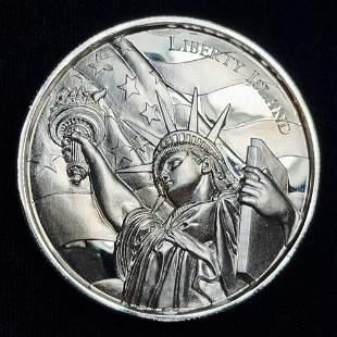 Liberty Island American Landmarks .999 Silver 2 oz