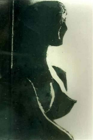 PENSIVE MOOD-2  - Handpainted Art Painting - 20in X