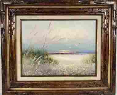 Genuine Beach Side Painting