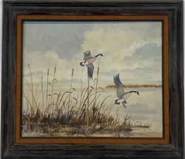 Sue Coleman Ocean Landscape Painting