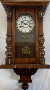 Antique RA Pendulum Wall Clock