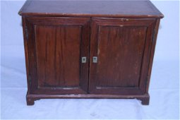 Early American cabinet with cubby holes