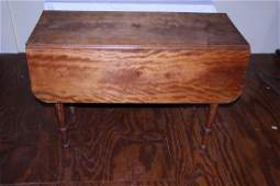 Beautiful early drop leaf table