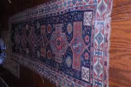 Geometric oriental rug