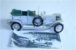 Franklin mint precision model 1907 Rolls-Royce Silver