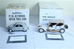 Lot of Franklin mint precision model cars