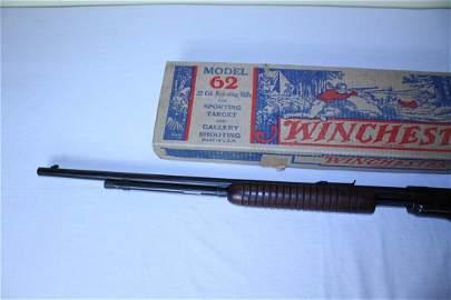 Rare model 62 A Winchester gallery gun in original box