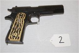 Ithaca Gun Co. 45 Cal. Pistol