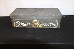 Antique Bruner Woolens box