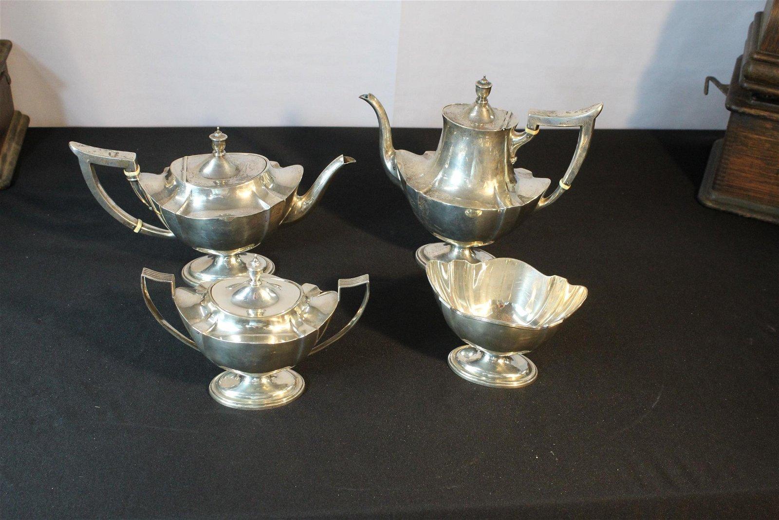 Gorham sterling tea set