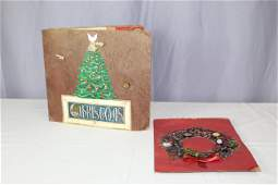 Two Christmas theme button cards