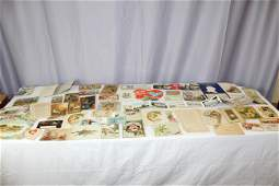Lot of early postcards, seasonal cards, calendars and