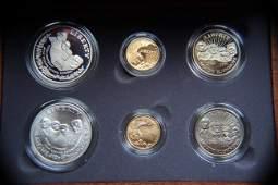 United States Mount Rushmore Anniversary Coin Set