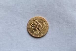 1910 $2.50 Indian Head Coin