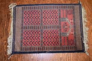 Vintage Oriental Scatter Rug