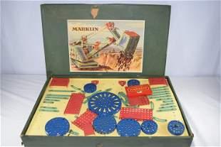 Vintage Marklin 1014 Construction Toy Set