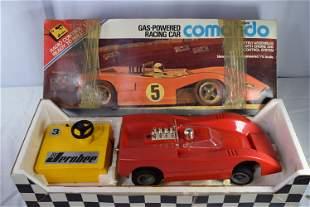 Vintage Jerobee Comando Gas-Powered Racing Car