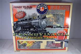 Lionel 0 Gauge Pennsylvania Flyer Freight Train Set