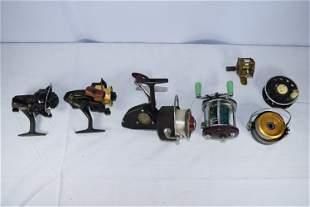 Lot of Vintage Fishing Reels