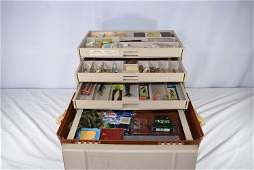 Plano Fishing Tackle Box With Contents