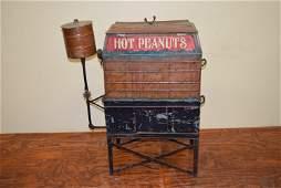 Vintage Copper Peanuts Machines