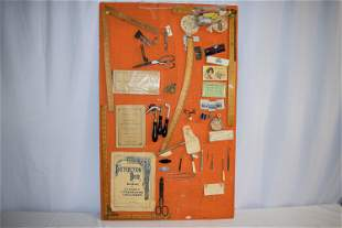 Vintage Collection Of Seamstress Tools and Items