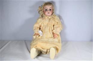 Vintage Bisque Head Doll