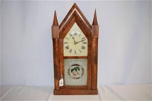 Antique Chauncey Boardman Steeple Clock