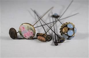 Victorian Era Hat Pins