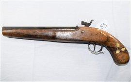 Early Flint Lock Pistol