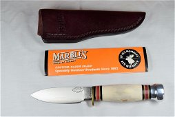 New Old Stock Marbles Knife in Box