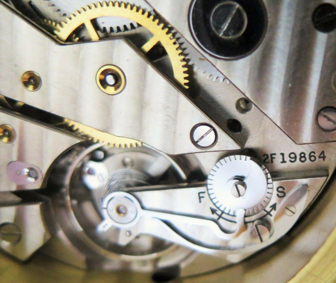 Hamilton mdl 22 ship's clock chronometer Deck watch WW2 - 9