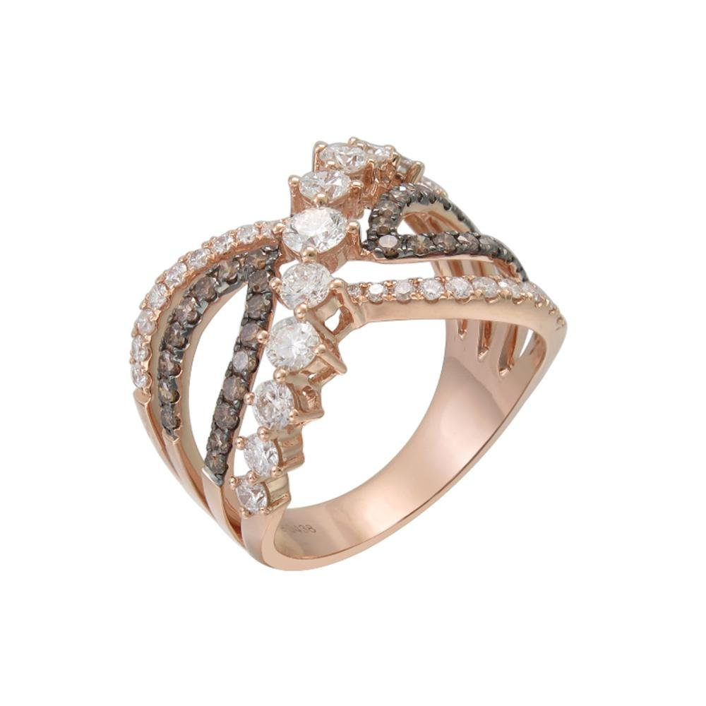 Certified 18k / 14k Gold and Diamonds Band