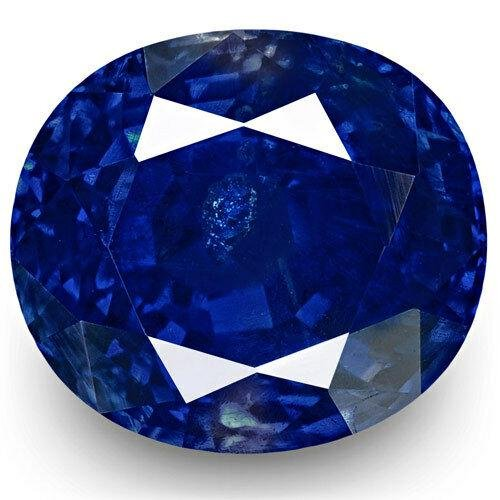 A 5.78 CRT SHAPPHIRE ROYAL BLUE FROM INDIA.