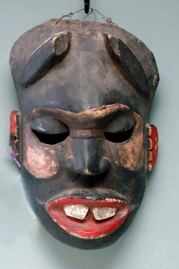 7: AFRICAN MASK - YORUBA TRIBE
