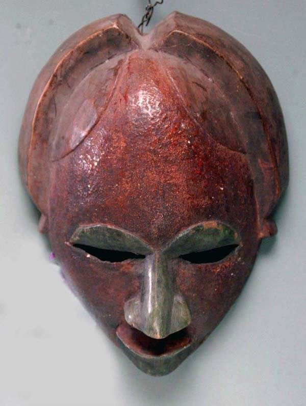 13: AFRICAN MASK - PUNU TRIBE